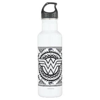 Wunder-Frauen-geistiger Stammes- Entwurf Trinkflasche