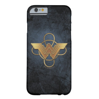 Wunder-Frauen-Goldsymbol über Lasso Barely There iPhone 6 Hülle