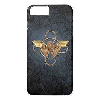 Wunder-Frauen-Goldsymbol über Lasso iPhone 8 Plus/7 Plus Hülle