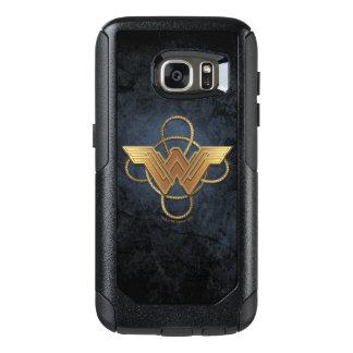 Wunder-Frauen-Goldsymbol über Lasso OtterBox Samsung Galaxy S7 Hülle