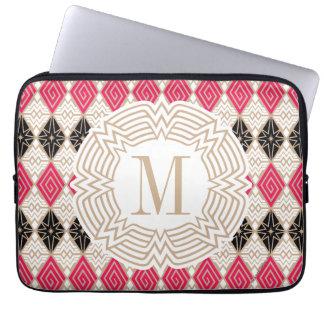 Wunder-Frauen-Grieche-Muster Laptopschutzhülle