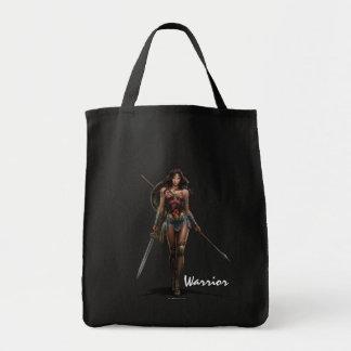 Wunder-Frauen-Kampf-Bereite Comic-Kunst Einkaufstasche