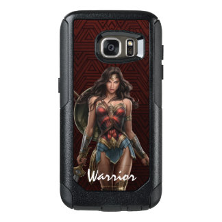 Wunder-Frauen-Kampf-Bereite Comic-Kunst OtterBox Samsung Galaxy S7 Hülle