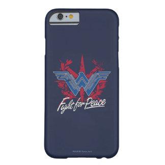 Wunder-Frauen-Kampf für Friedenssymbol Barely There iPhone 6 Hülle