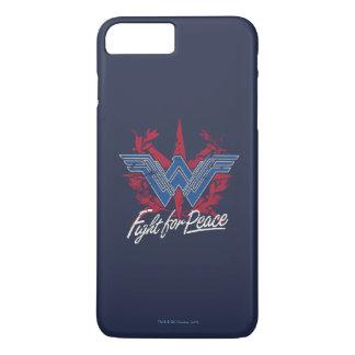 Wunder-Frauen-Kampf für Friedenssymbol iPhone 8 Plus/7 Plus Hülle