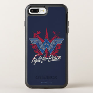 Wunder-Frauen-Kampf für Friedenssymbol OtterBox Symmetry iPhone 8 Plus/7 Plus Hülle