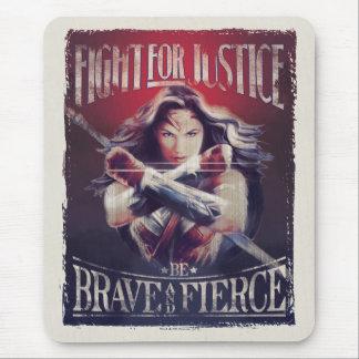 Wunder-Frauen-Kampf für Gerechtigkeit Mousepad