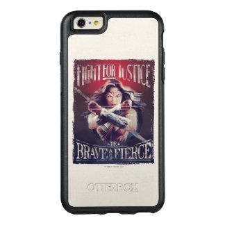 Wunder-Frauen-Kampf für Gerechtigkeit OtterBox iPhone 6/6s Plus Hülle