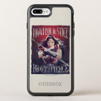 Wunder-Frauen-Kampf für Gerechtigkeit OtterBox Symmetry iPhone 8 Plus/7 Plus Hülle