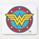Wunder-Frauen-Kreis u. Stern-Logo Mauspad