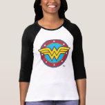 Wunder-Frauen-Kreis u. Stern-Logo T-shirt