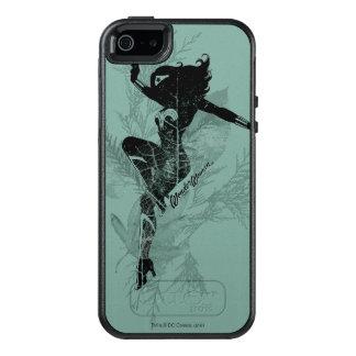 Wunder-Frauen-Landungs-Laub-Grafik OtterBox iPhone 5/5s/SE Hülle