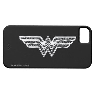Wunder-Frauen-Paisley-Logo Barely There iPhone 5 Hülle