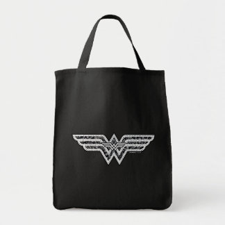 Wunder-Frauen-Paisley-Logo Einkaufstasche