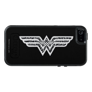 Wunder-Frauen-Paisley-Logo OtterBox iPhone 5/5s/SE Hülle