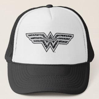 Wunder-Frauen-Paisley-Logo Truckerkappe