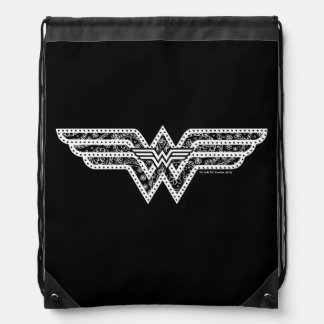 Wunder-Frauen-Paisley-Logo Turnbeutel