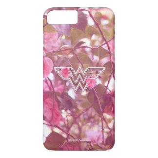 Wunder-Frauen-Rosa-Kamelien-Blumen-Logo 3 iPhone 8 Plus/7 Plus Hülle