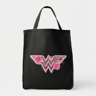 Wunder-Frauen-Rosa-Kamelien-Blumen-Logo Einkaufstasche