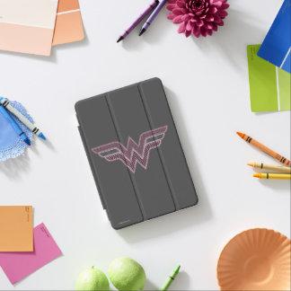 Wunder-Frauen-rosa und schwarzes iPad Mini Hülle