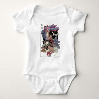 Wunder-Frauen-Rückkehr der Khundi Farbe Baby Strampler