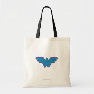 Wunder-Frauen-Sprühfarbe-Logo Budget Stoffbeutel