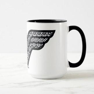 Wunder-Frauen-Stammes- Muster Tasse