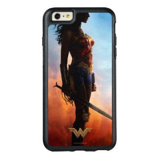 Wunder-Frauen-Staubsturm-Silhouette OtterBox iPhone 6/6s Plus Hülle