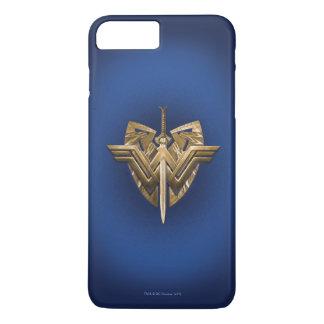 Wunder-Frauen-Symbol mit Klinge von Gerechtigkeit iPhone 8 Plus/7 Plus Hülle