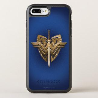 Wunder-Frauen-Symbol mit Klinge von Gerechtigkeit OtterBox Symmetry iPhone 8 Plus/7 Plus Hülle
