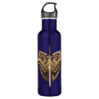 Wunder-Frauen-Symbol mit Klinge von Gerechtigkeit Trinkflasche