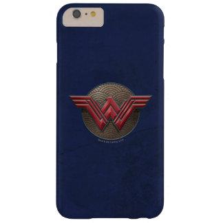 Wunder-Frauen-Symbol über konzentrischen Kreisen Barely There iPhone 6 Plus Hülle