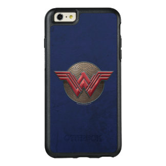 Wunder-Frauen-Symbol über konzentrischen Kreisen OtterBox iPhone 6/6s Plus Hülle