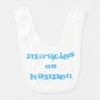Wunder geschehen Schellfisch Babylätzchen