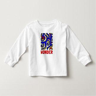 """Wunder-"" Kleinkind-langer Hülsen-T - Shirt"