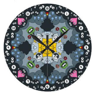 Wunder-Mandala-Uhr Große Wanduhr