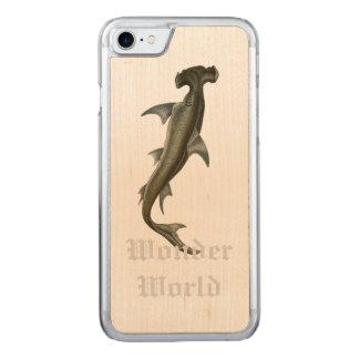 """""""Wunder-Welt"""" - Hammer-Kopf Carved iPhone 8/7 Hülle"""