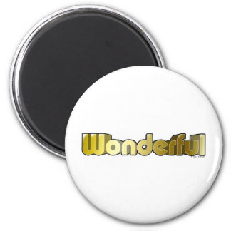 Wunderbar Runder Magnet 5,1 Cm