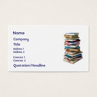 Wunderbare Bücher, Visitenkarte