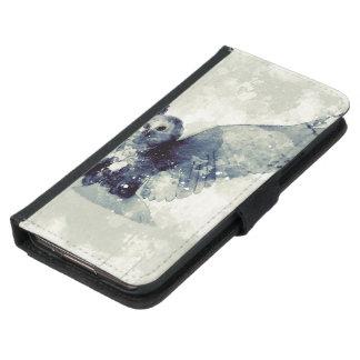 Wunderbare Eule im Aquarell Geldbeutel Hülle Für Das Samsung Galaxy S5