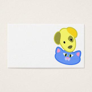Wunderbare Hunde-und Katzen-Visitenkarte Visitenkarte