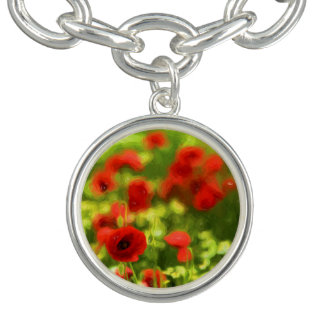 Wunderbare Mohnblumen-Blumen VI - Wundervolle Armband