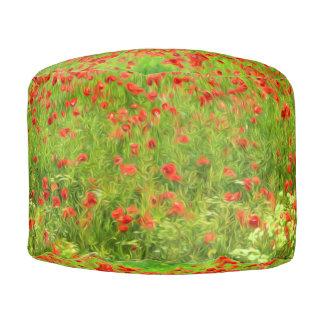 Wunderbare Mohnblumen-Blumen VII - Wundervolle Hocker