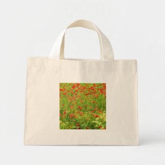 Wunderbare Mohnblumen-Blumen VII - Wundervolle Mini Stoffbeutel