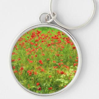 Wunderbare Mohnblumen-Blumen VII - Wundervolle Schlüsselanhänger