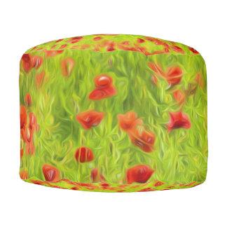 Wunderbare Mohnblumen-Blumen VIII - Wundervolle Hocker