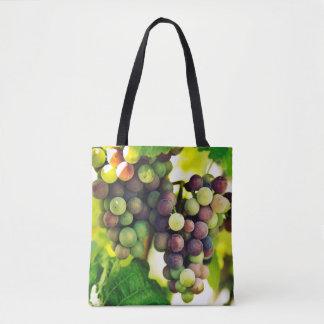 Wunderbare Rebe-Trauben, Natur, Herbst-Fall Sun Tasche