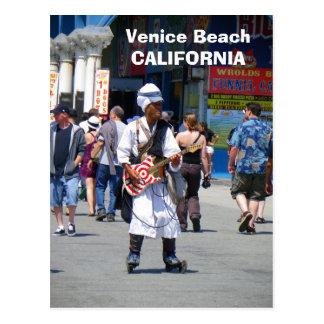 Wunderbare Venedig-Strand-Postkarte! Postkarte