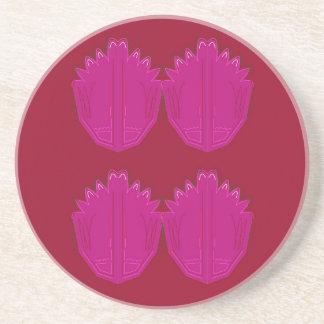 Wunderbare Verzierungen rosarot Getränkeuntersetzer