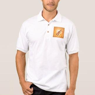 Wunderbare Violine Polo Shirt